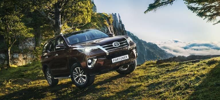 Toyota объявила цены наFortuner