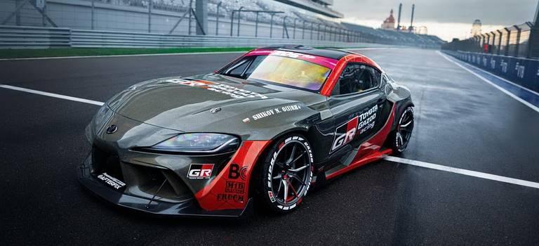 Toyota представляетGR Supra сэксклюзивным карбон-кевларовым кузовом