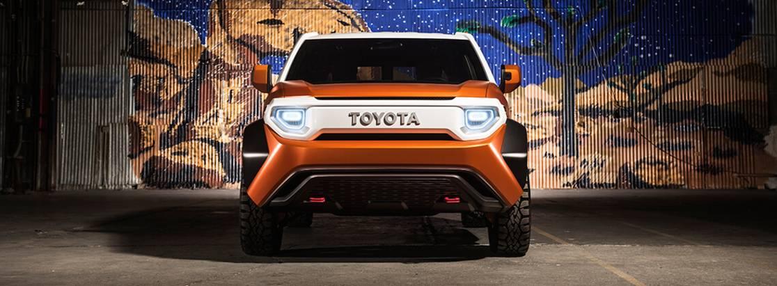 Toyota представила кроссовер будущего