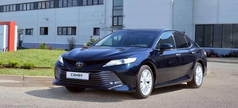 Запуск производства новой Toyota Camry и10-летний юбилей завода