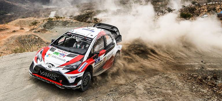 Toyota Gazoo Racing финишировали втоп-10 третьего этапа WRC
