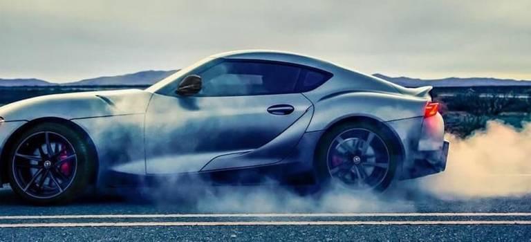 Российская премьера Toyota Supra наRDSGP