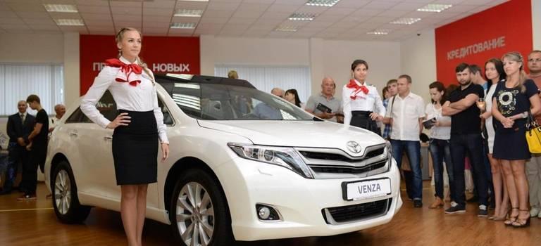 Презентация Toyota Venza