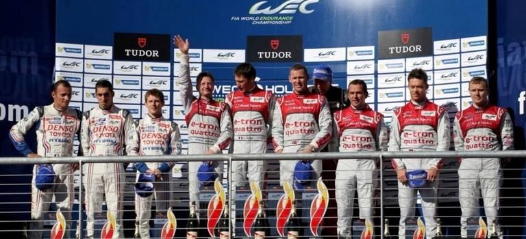 Команда Toyota Racing пришла второй нагонках вОстине