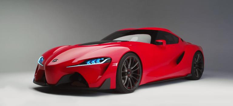 Мировая премьера концептуального спорт-купе Toyota FT-1 наавтосалоне вДетройте-2014