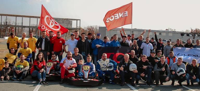 Команды компании «Саммит Моторс» традиционно приняли участие вотраслевом чемпионате покартингу!