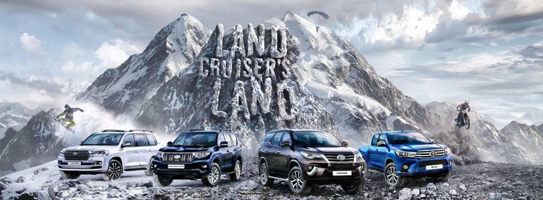 Toyota выбрала победителя конкурса «Внедорожное путешествие вНамибию»