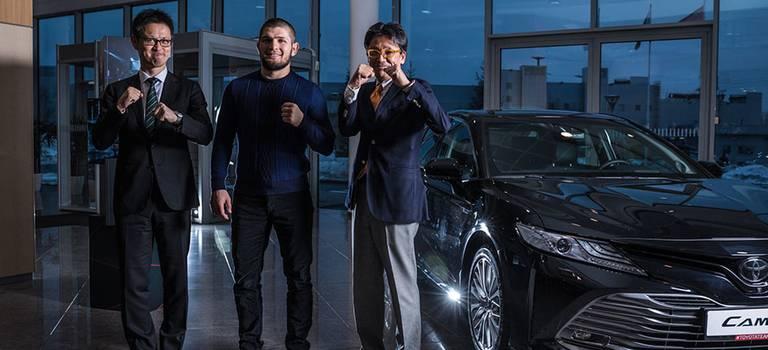 Toyota объявляет опартнерстве сХабибом Нурмагомедовым