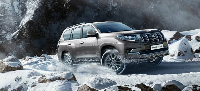 Toyota открывает год премьерой специальной серии Land Cruiser Prado Style