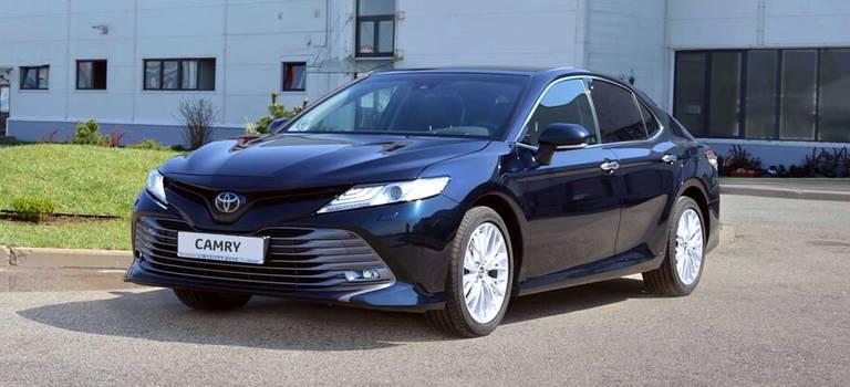 Успешный запуск производства новой Toyota Camry и10-летний юбилей завода