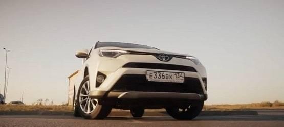 Маленькое путешествие Toyota RAV4