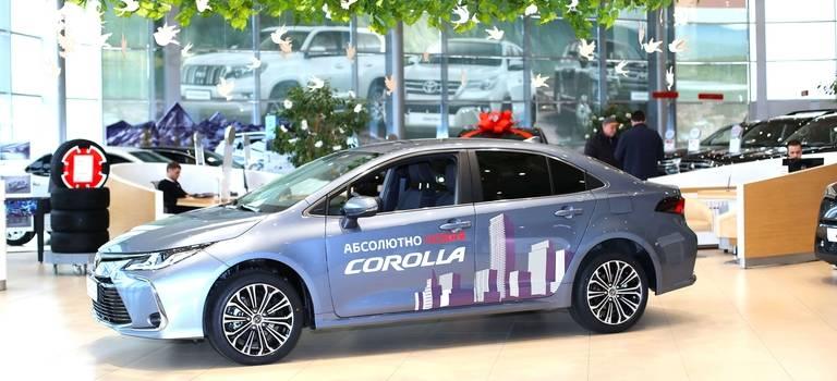 Новая Corolla. Отражение статуса