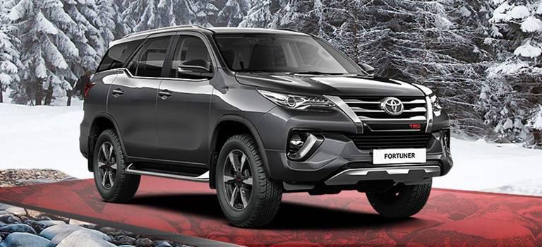 Toyota Fortuner соскидкой 100000 рублей
