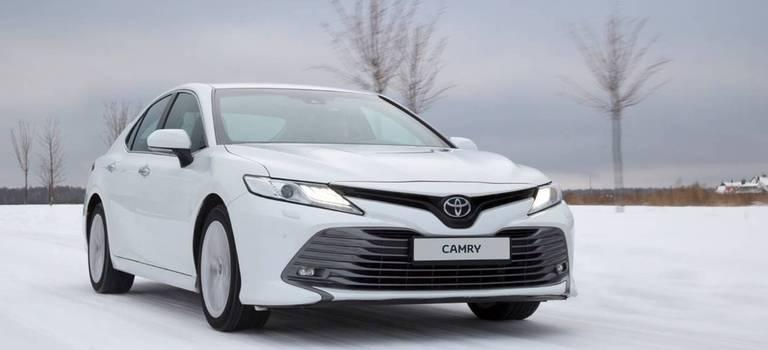 Toyota Camry вапреле выгоднее на100000 рублей