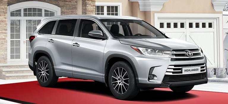 Toyota Highlander свыгодой до300000 рублей! Только вдекабре