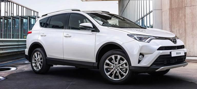 Toyota RAV4 соскидкой до100000 рублей