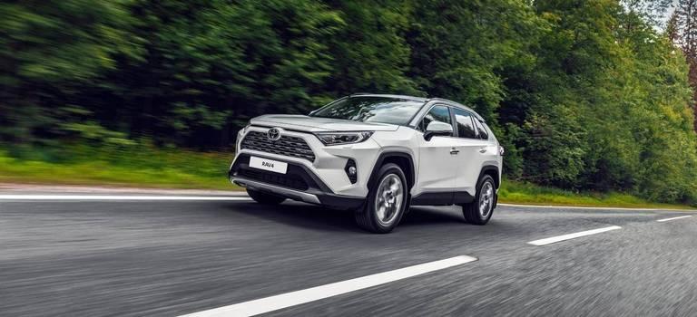 Специальные предложения марта наавтомобили Toyota
