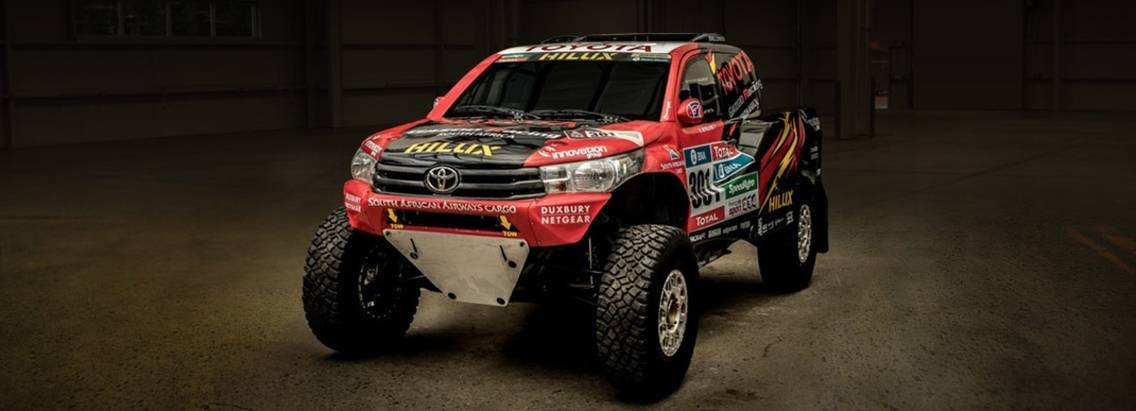 Toyota готовит революционный прототип Hilux Evo сколесной формулой 2×4 кучастию всамом известном вмире международном ралли-рейде Дакар-2017.