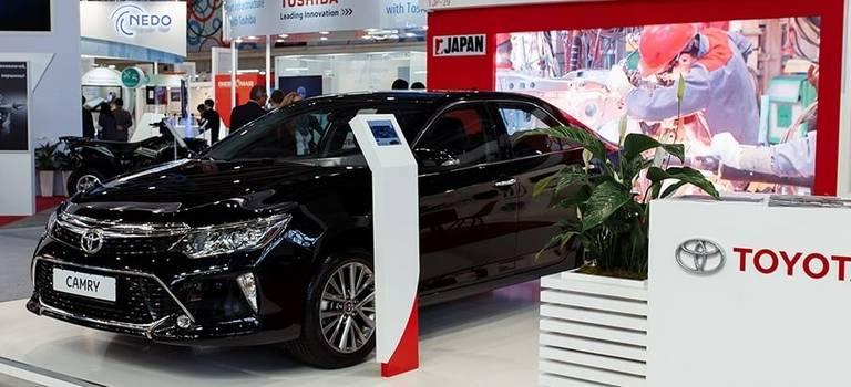 Toyota на«ИННОПРОМ-2017 встреча навысшем уровне