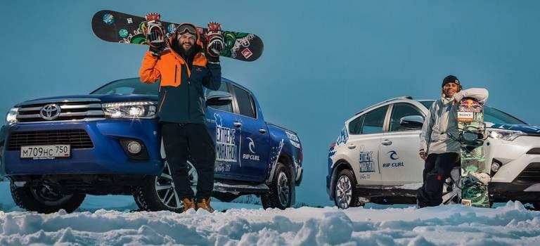 Toyota продолжает покорение территории спортивного экстрима