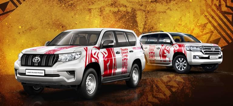 Внедорожный тест-драйв Toyota Desert Camp
