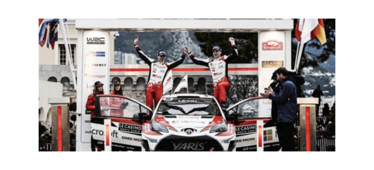 Без раскачки: Toyota открывает календарь чемпионата мира поралли местом напьедестале