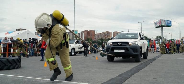 Соревнования пожарных Сибири, Урала иДальнего Востока