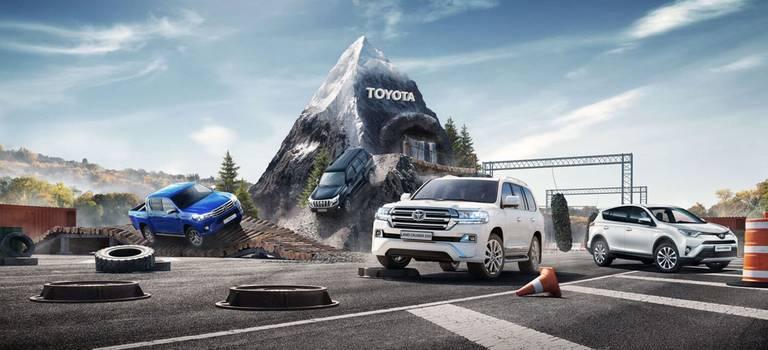 Большой внедорожный тест-драйв Toyota