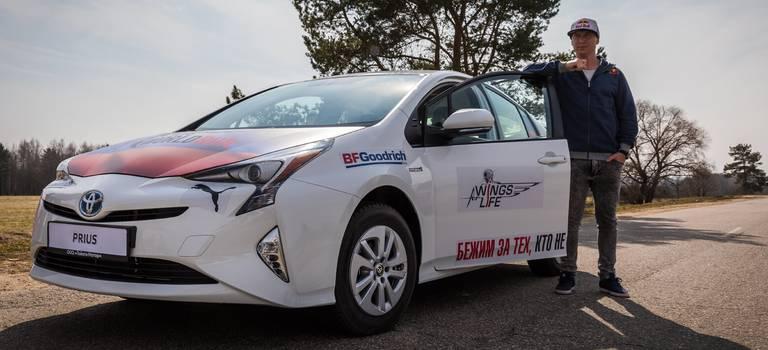 Кетчер-кар: необычная миссия Toyota Prius вРоссии