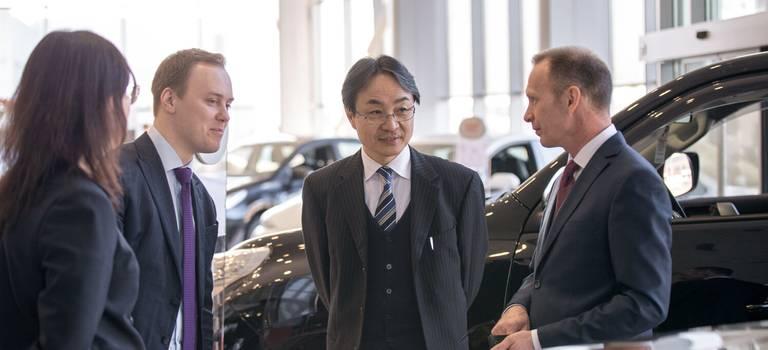 Визит президента ООО«Тойота Мотор