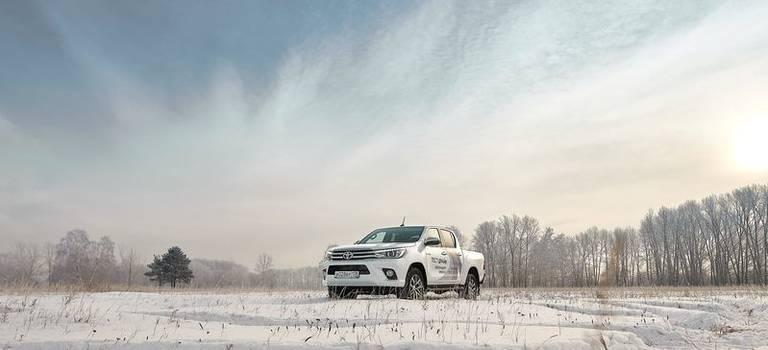 Новогодний тест-драйв Тойота