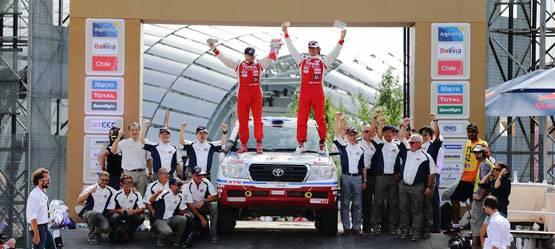 Триумфальная победа серийных внедорожников Toyota в«Дакаре-2015»