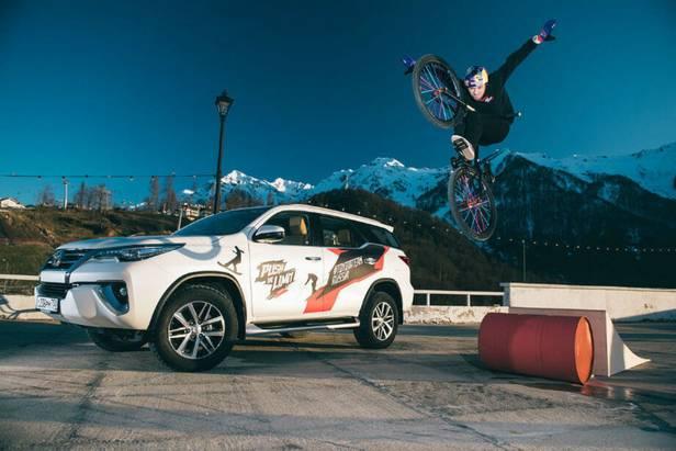 Атлет #ToyotaTeamRussia вфинале международной Олимпиады молодежных субкультур!