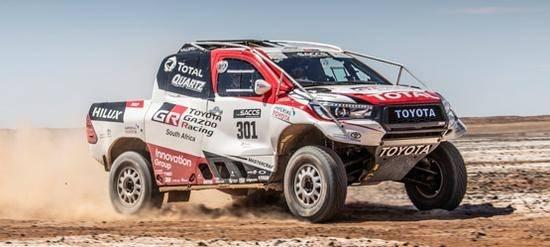Toyota Hilux победителей ралли-рейда «Дакар-2019»