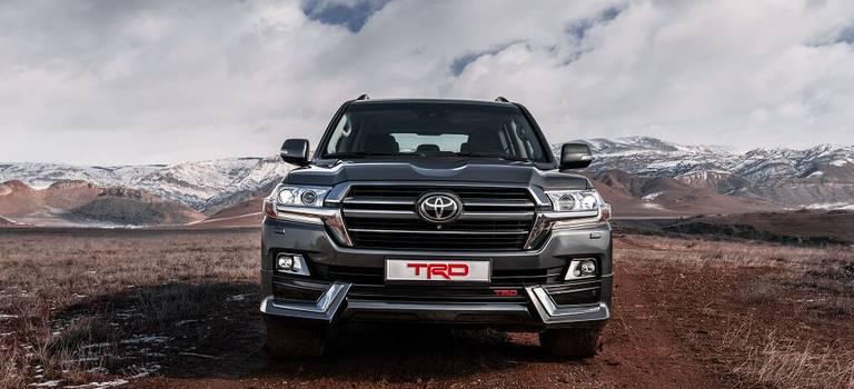 Внедорожники Toyota Land Cruiser были признаны самыми надежными ифункциональными вРоссии