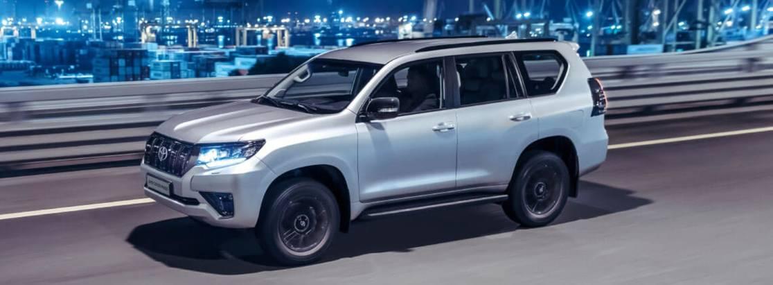 Toyota Land Cruiser Prado вновой звездной рекламной кампании