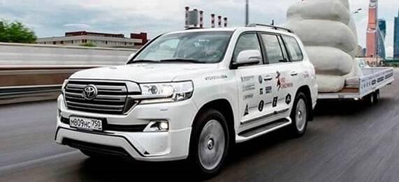 Toyota Land Cruiser 200 стал участником уникального российского проекта