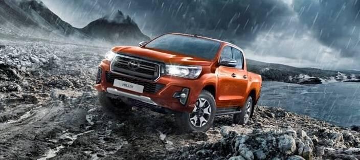 Toyota представила Hilux Exclusive