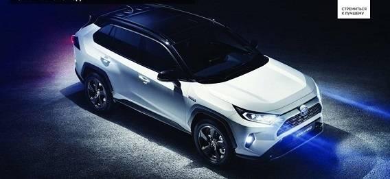 Toyota представила новое поколение RAV4