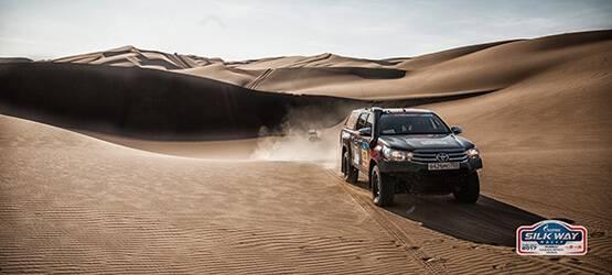 Маршрут ралли «Шелковый путь- 2017» снова проложат внедорожники Toyota