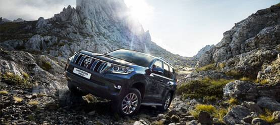Новый Land Cruiser Prado в России