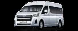 Toyota Hiace 2.8d MT6 (150 л.с.) 2WD Стандарт