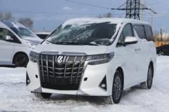 Toyota Alphard 3.5 AКПП8 (300 л.с.) 2WD Люкс