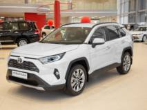 Toyota RAV4 2.5 AT8 (199 л.с.) 4wdT - полная масса 2175 Престиж Safety