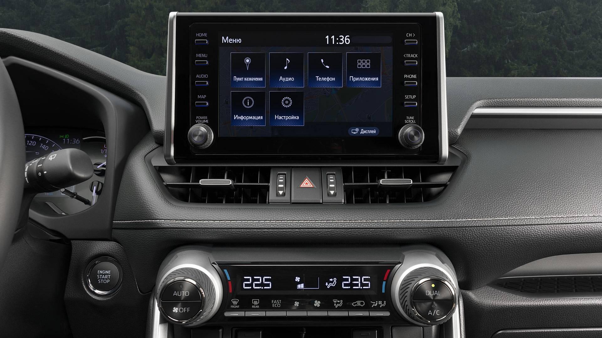 Мультимедиа Toyota RAV4