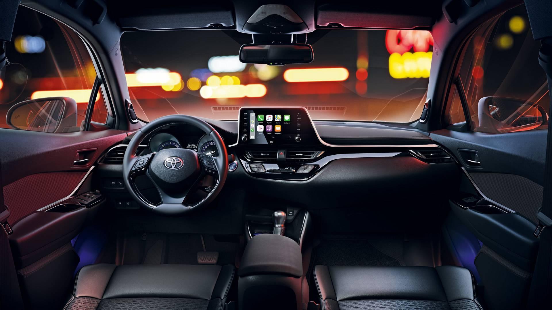 Салон Toyota C-HR
