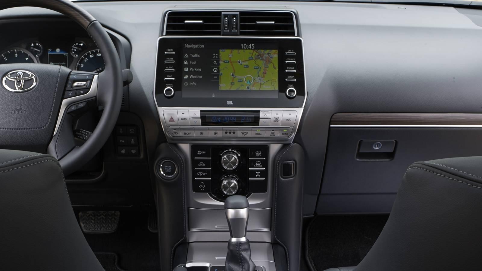 Дисплей Toyota Land Cruiser Prado