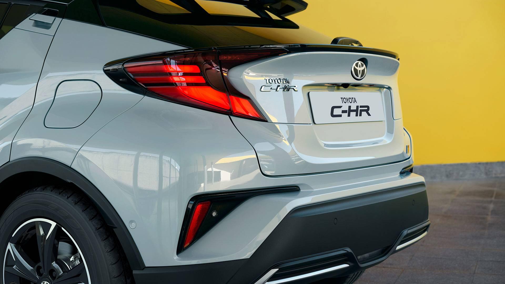 Технические характеристики Toyota C-HR