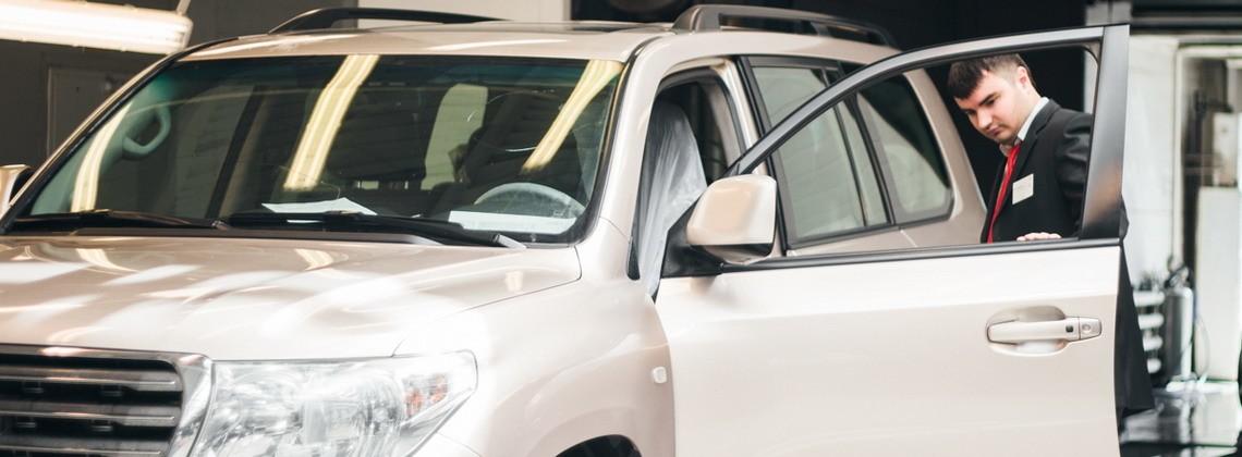 Замена стекол Тойота в Тойота Центр Челябинск Восток