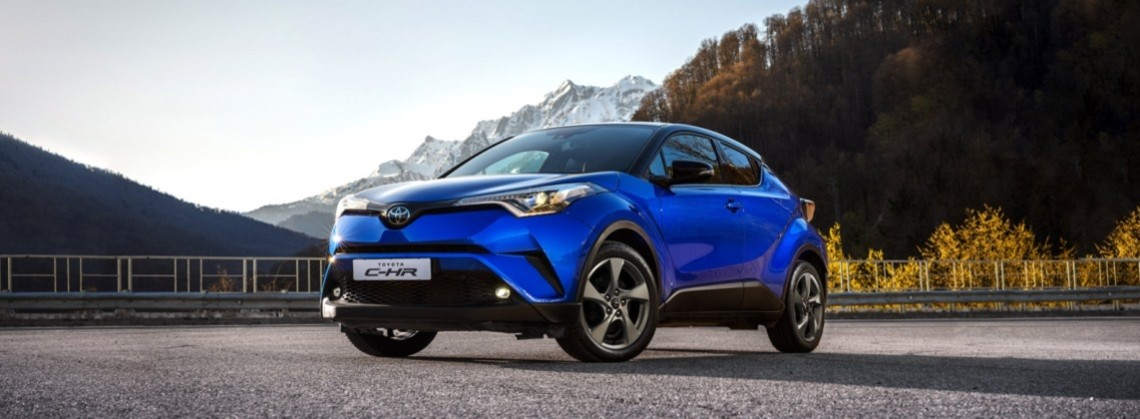 Новый Toyota C-HR: выгода до 130 000 руб.